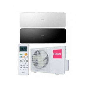 Haier AS24NS3ERA/1U24GS1ERA (белый/черный/бежевый) Lightera Supermatch Inverter